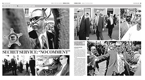 "SECRET SERVICE: ""NO COMMENT"""